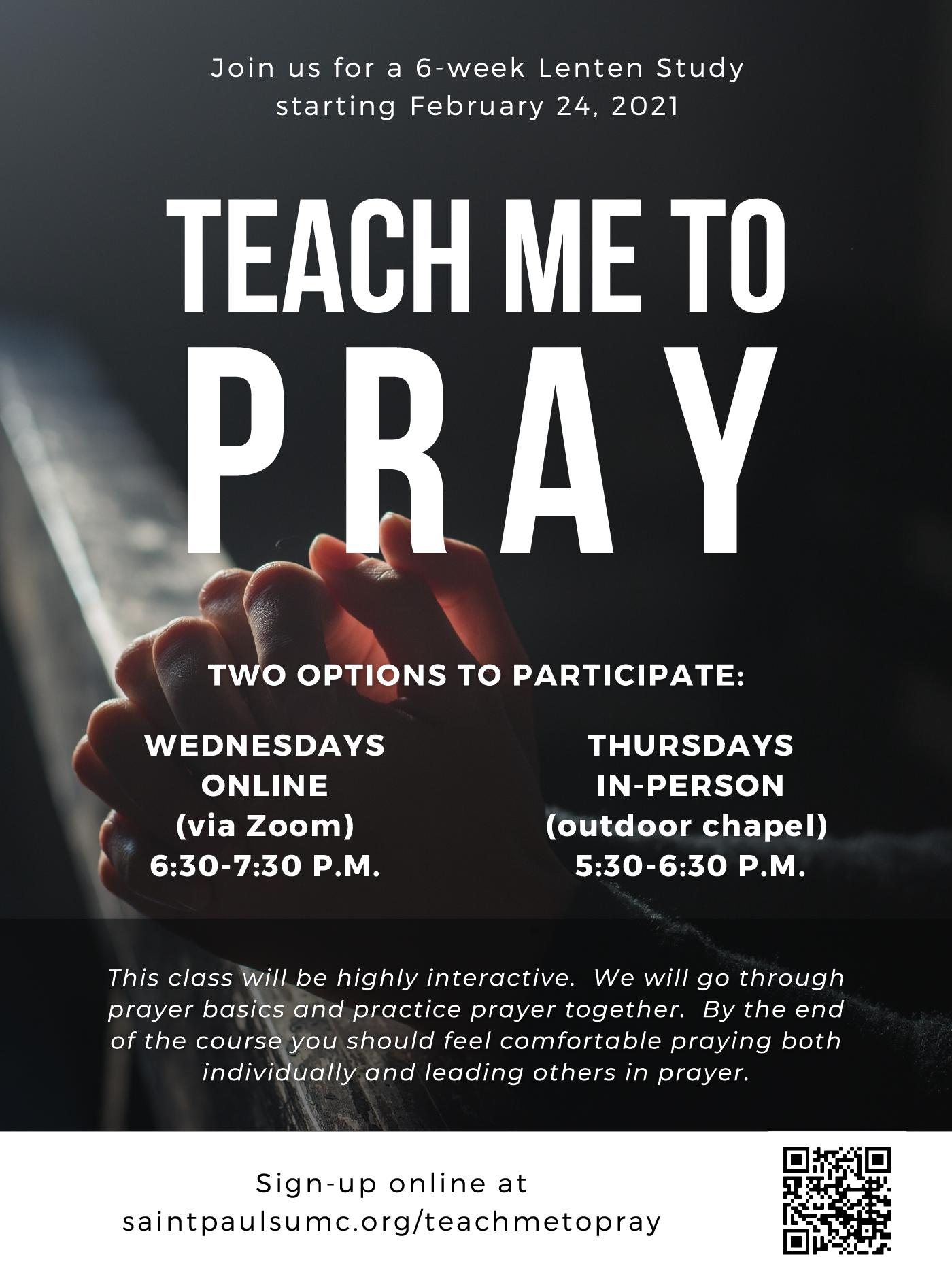 Join us for a 6-week Lenten Study